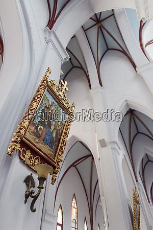vietnam hanoi st joseph cathedral interior
