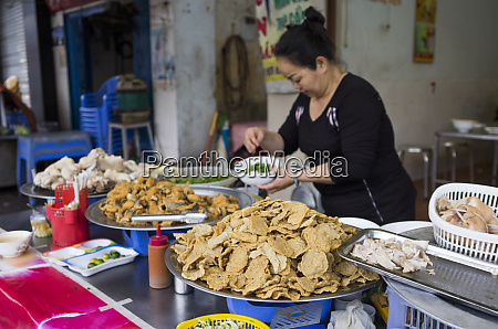 vietnam haiphong street food food stall