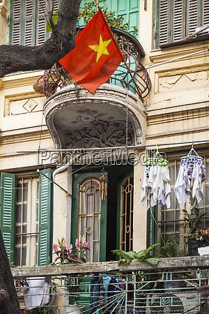 vietnam hanoi old hanoi balcony