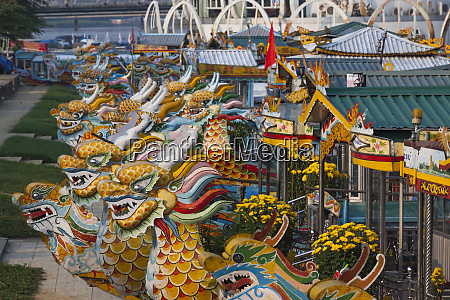 vietnam hue dragon excursion boats perfume