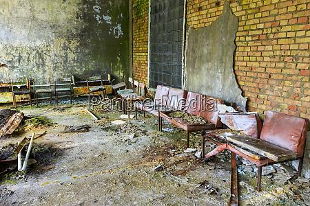 ukraine pripyat chernobyl the hospital msch