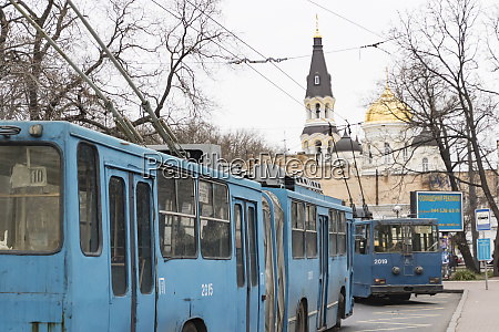 electric trolley buses odessa ukraine