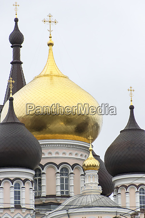 domes of a russian orthodox church