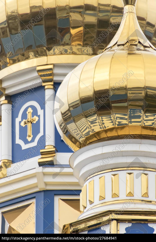 dome, detail, , russian, orthodox, church, , odessa, - 27684941