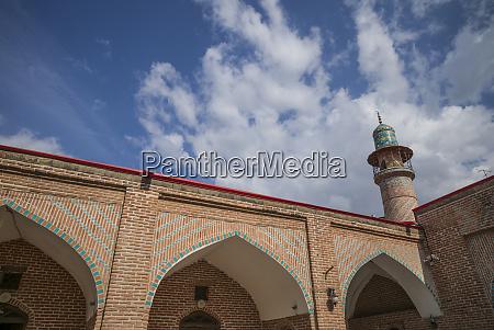 armenia yerevan the blue mosque interior