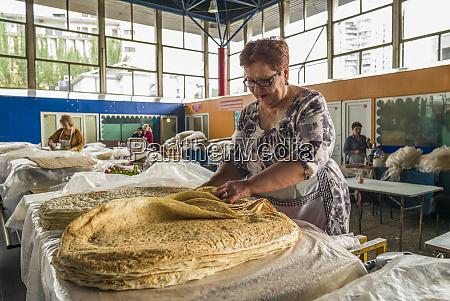 armenia yerevan gum market vendor of