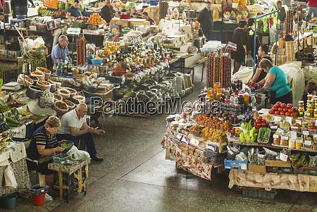 armenia yerevan gum market hall