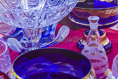 armenia yerevan vernissage market antique glassware
