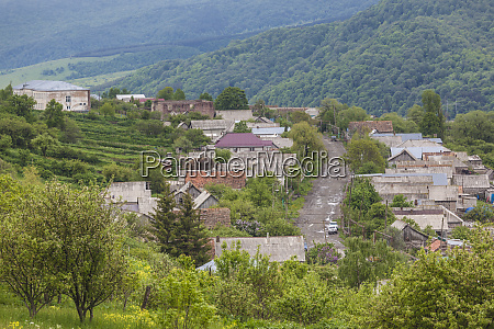 armenia shaumyana village in spring