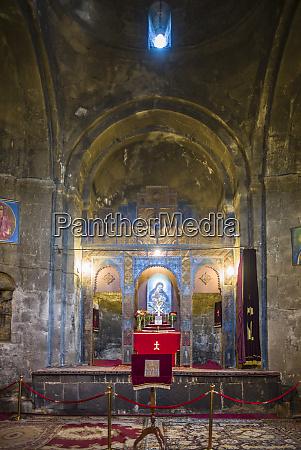 armenia sevan sevanavank monastery interior