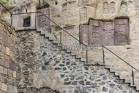 armenia geghard monastery cave church interior
