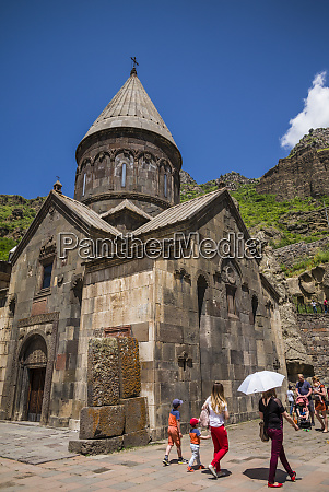 armenia geghard geghard monastery surp astvatsatsin