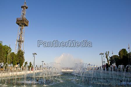 fountain square baku azerbaijan