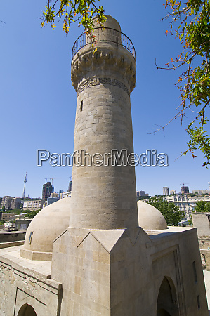 tower at the mosque in the