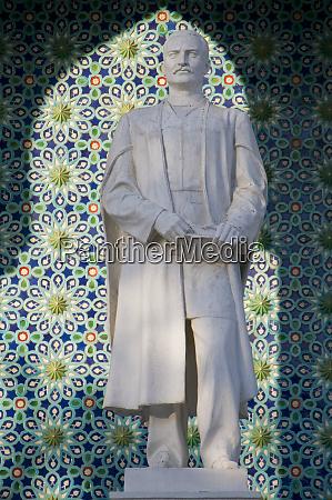 statue in the nizami museum of