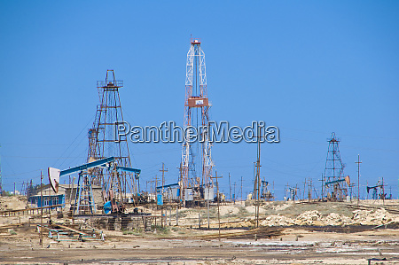 aserbaidschan oil fields and oil industry