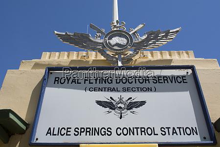 australia alice springs royal flying doctor