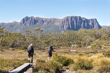 australia tasmania cradle mountain lake st