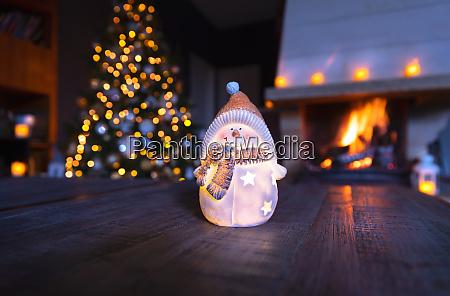stylish christmas home decoration