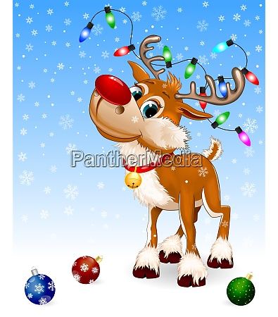 deer snowflake christmas decoration