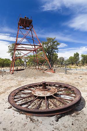 australia whiteman whiteman park antique mining