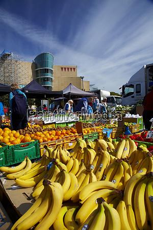 fruit and vegetables at harbourside market