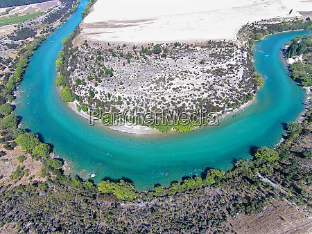 clutha river central otago south island