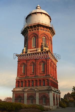 historic water tower 19th century invercargill