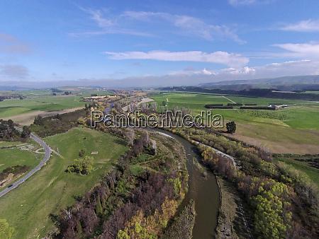 opuha river between geraldine and fairlie