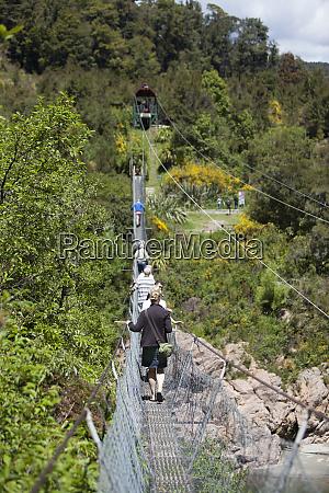 south island rope bridge