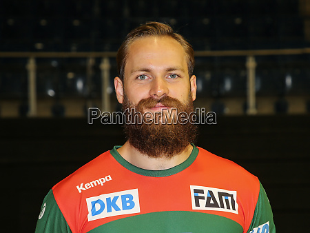 german handball player moritz preuss sc