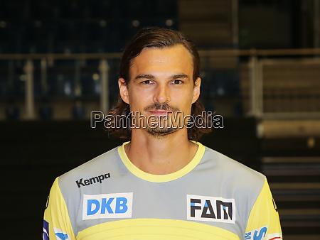 danish handball goalkeeper jannick green sc