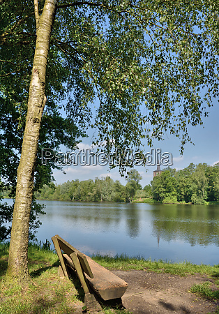 lake borner see near brueggen