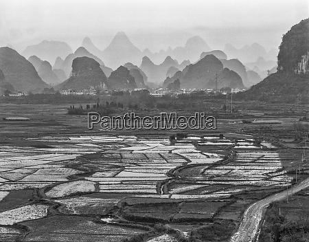 china yangshoo countryside