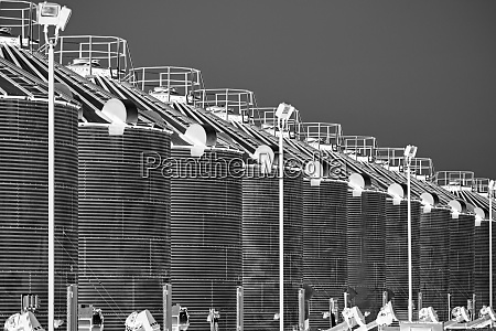 corn cribs in a row brookston
