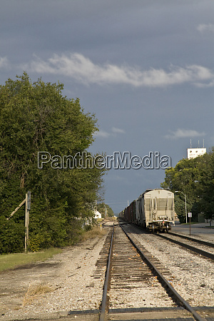 united states kansas abilene railroad tacks