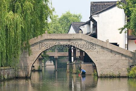 xiegong bridge on the grand canal