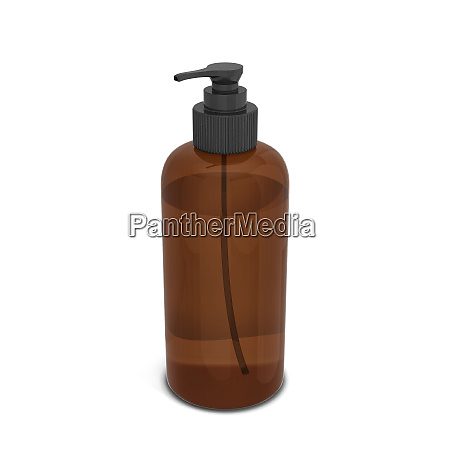 blank bottle for liquid cosmetics