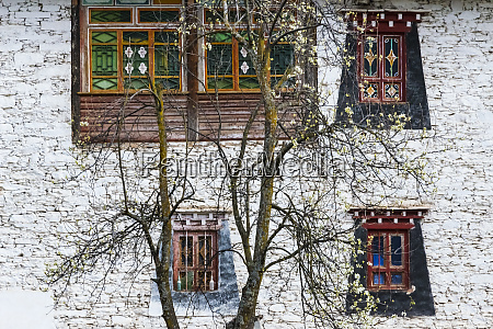 zhonglu tibetan village house danba sichuan