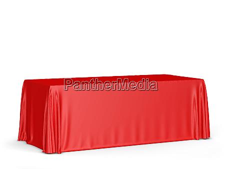 tradeshow tablecloth mockup
