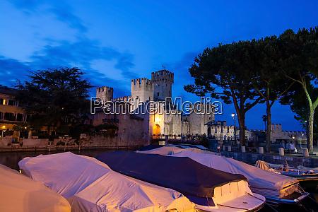 scaligero castle sirmione italy