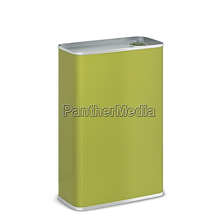 olive oil tin can package mockup