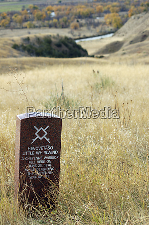 montana native american memorial and headstones