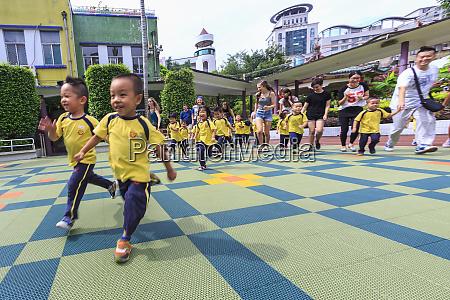 cultural visit at number two kindergarten