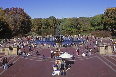 bethesda fountain central park manhattan new