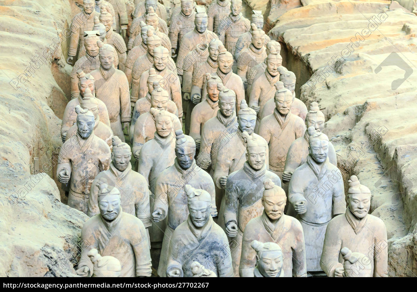 terracotta, army, museum, , warriors, and, horses - 27702267