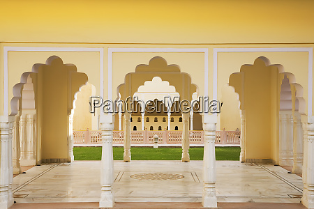 india rajasthan interior of building with