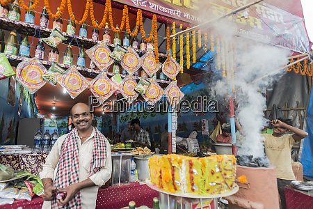 india sonepur shop owner during the