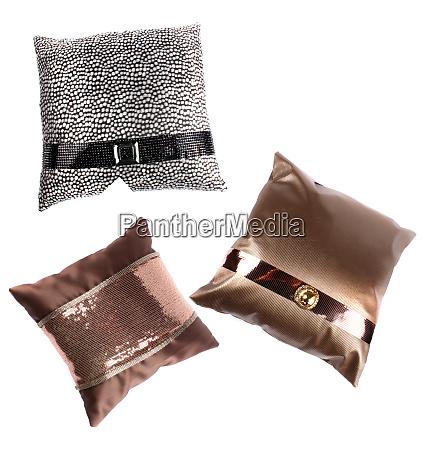 luxurious designer pillows