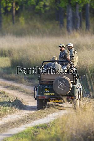 india jeep in bandhavgarh tiger reserve